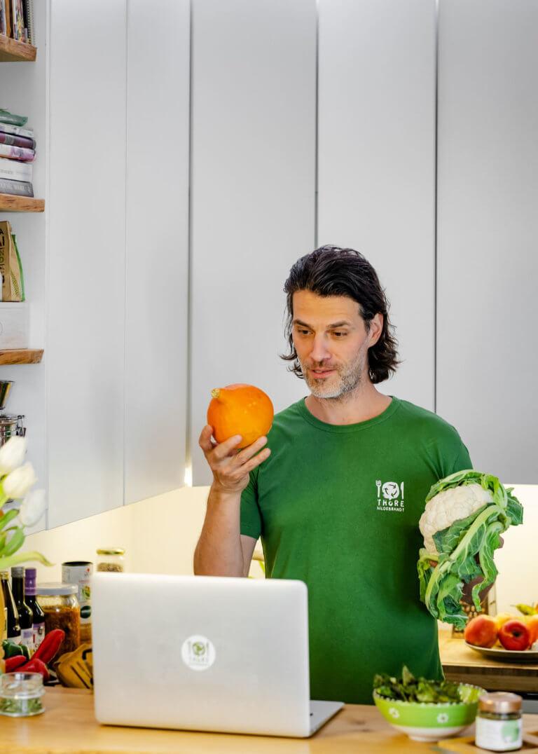 Thore Hildebrandt - Einführung in die Pflanzliche Küche Kürbis und Blumenkohl